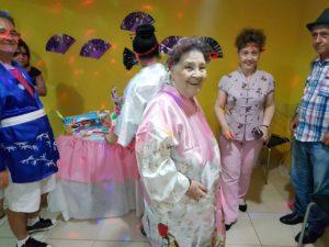 Minha avó na festa de 85 anos